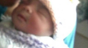 Baby saved from abortion born on July 4